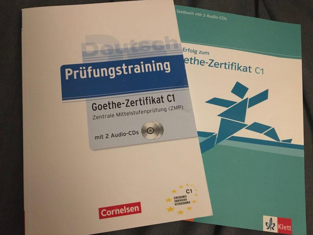 ゲーテインスティテュートC1の試験対策教材